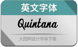 Quintana(英文字体)