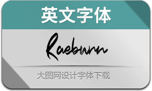Raeburn(英文字体)