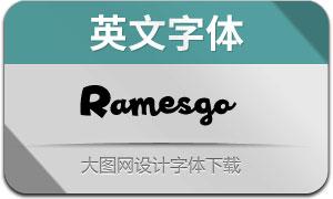 Ramesgo(英文字体)