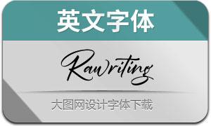 Rawriting(英文字体)