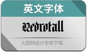 Redrotall(英文字体)