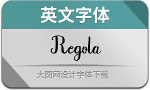 Regola(英文字体)