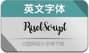 RisolScript(英文字体)