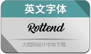 Rottend(英文字体)