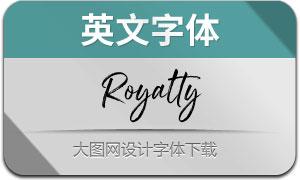 Royalty(英文字体)