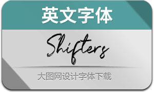 Shifters(英文字体)