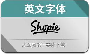 Shopie(英文字体)