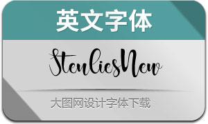 StenliesNew(英文字体)