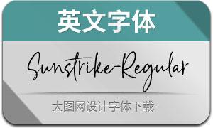 Sunstrike-Regular(英文字体)