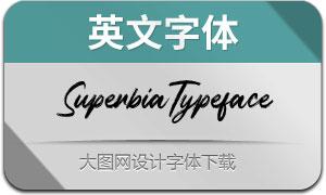 SuperbiaTypeface(英文字体)