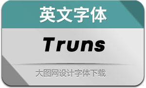 Truns(英文字体)