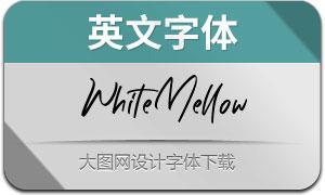 WhiteMellow(英文字体)