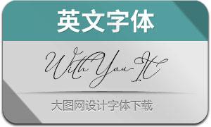 WithYou-Italic(英文字体)