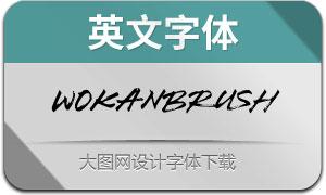 WokanBrush(英文字体)