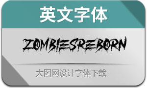 ZombiesReborn(英文字体)