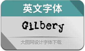 Gilbery-Regular(英文字体)