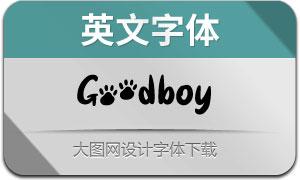 Goodboy(英文字体)