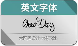 GoodDay(英文字体)