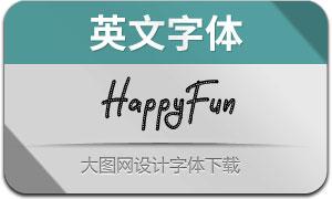 HappyFun(英文字体)