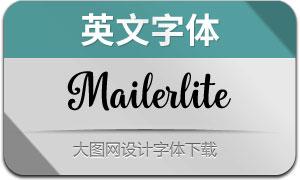 Mailerlite(英文字体)