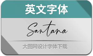 Santana(英文字体)