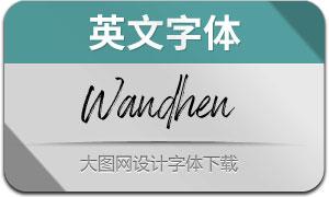 Wandhen(英文字体)