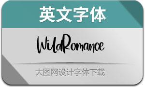 WildRomance(英文字体)