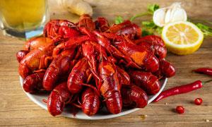 特色小龙虾美食摄影图片