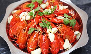 油焖小龙虾美食菜品摄影图片