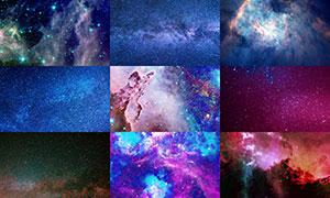 宇宙星空主题背景创意高清图片集V10