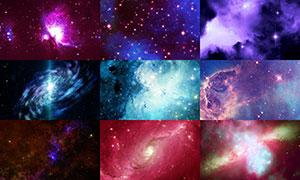 宇宙星空主题背景创意高清图片集V11