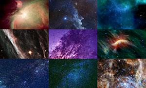 宇宙星空主题背景创意高清图片集V17