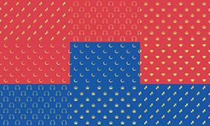 四方连续拼接背景创意高清图片集V04