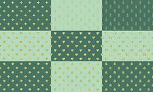 四方连续拼接背景创意高清图片集V16