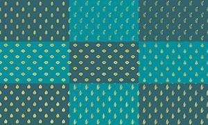 四方连续拼接背景创意高清图片集V18