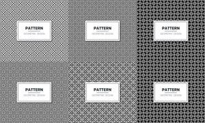 無縫四方連續圖案背景矢量素材集V40
