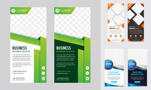宣传单页与彩页设计模板等矢量素材