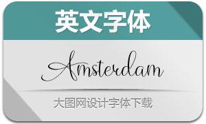 Amsterdam(英文字体)