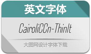 CairoliClassicCn-ThinIt(Ӣ������)