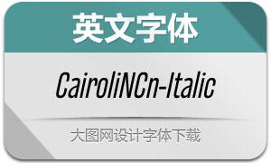 CairoliNowCn-Italic(Ó¢ÎÄ×ÖÌå)