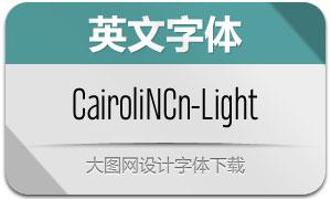 CairoliNowCn-Light(Ó¢ÎÄ×ÖÌå)