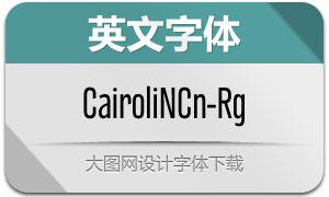 CairoliNowCn-Regular(Ó¢ÎÄ×ÖÌå)