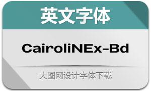 CairoliNowEx-Bold(英文字体)