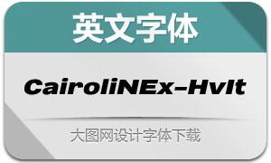 CairoliNowEx-HeavyIt(英文字体)