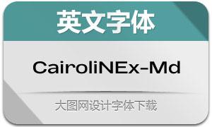 CairoliNowEx-Medium(英文字体)