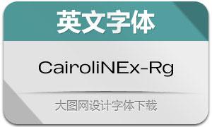 CairoliNowExt-Regular(英文字体)