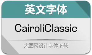 CairoliClassic系列16款英文字体