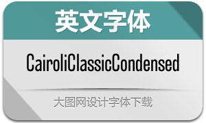 CairoliClassicCn系列14款英文字体