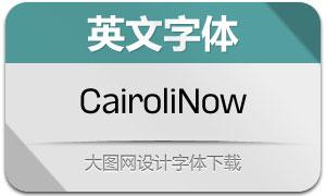 CairoliNow系列16款英文字体