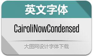 CairoliNowCn系列14款英文字体